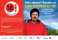 Den Respektuj 18 poprvé v Ostravě s mistrem ČR v lyžování Ondřejem Bankem