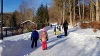 Děti z MŠ jsou na ozdravném pobytu v Karlově Studánce