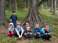 Děti z MŠ Lechowiczova byly na škole v přírodě