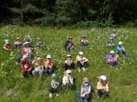 Děti z MŠ Varenská zažily ve škole v přírodě pravé motýlí dobrodružství