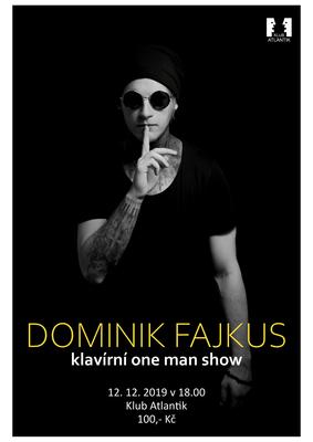 Dominik Fajkus – Klavírní one man show