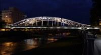 Nasvětlení Sýkorova mostu