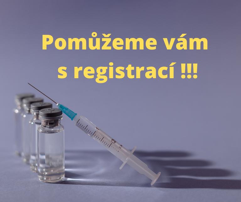 Obvod seniorům pomůže s registrací na očkování proti covid 19