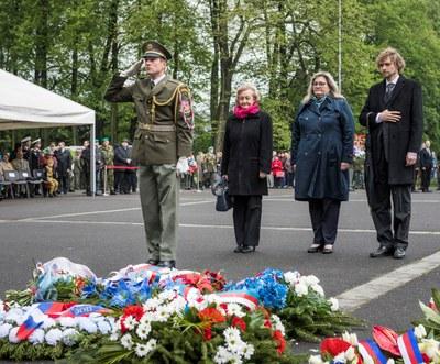 Ostrava si připomenula 74 let od osvobození