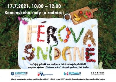 Přidejte se k nám a užijte si Férovou snídani v Komenského sadech