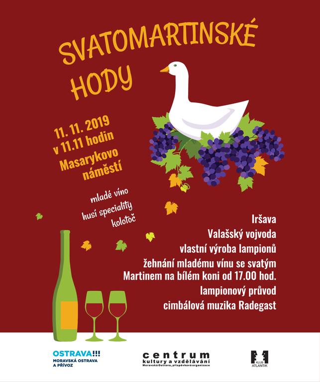 Přijďte na oslavu mladých vín v centru Ostravy