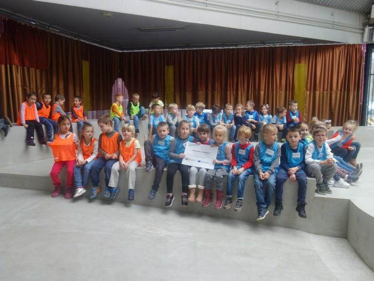 V galerii PLATO Ostrava se setkaly děti v mezinárodním projektu