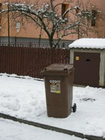 V Ostravě jsou bioodpady sváženy i v zimních měsících