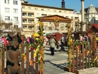 Velikonoční tradice a zvyky zaplnily náměstí