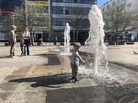 Vodotrysk na Masarykově náměstí