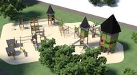 Začala výstavba 2. etapy dětského hřiště v Sadu Dr. M. Horákové